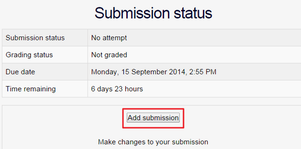 submit my Mahara page to Mahara assignment in UMMoodle1