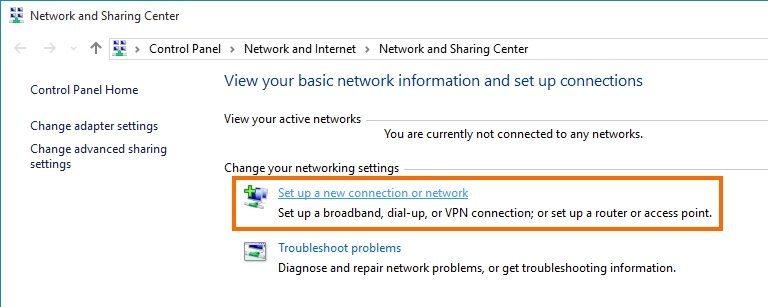 Wireless network in Windows 10_e2